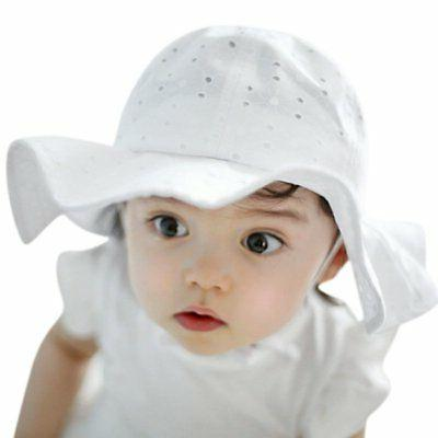 US Baby Kids Girl Brim Beach Headwear