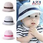 US Toddler Infant Sun Cap Baby Girl Boys Summer Bucket Hat B