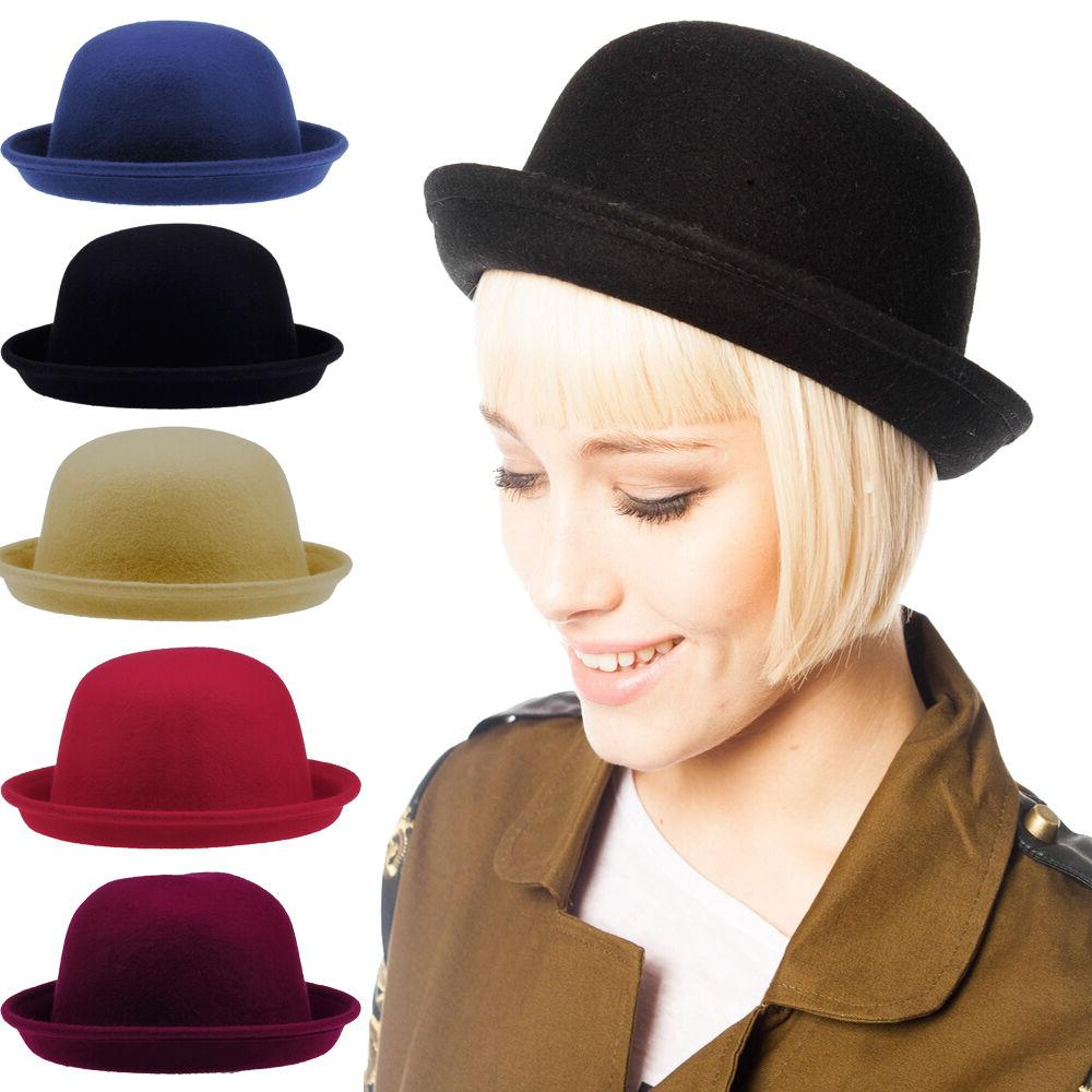 us women bowler hats children kids girls
