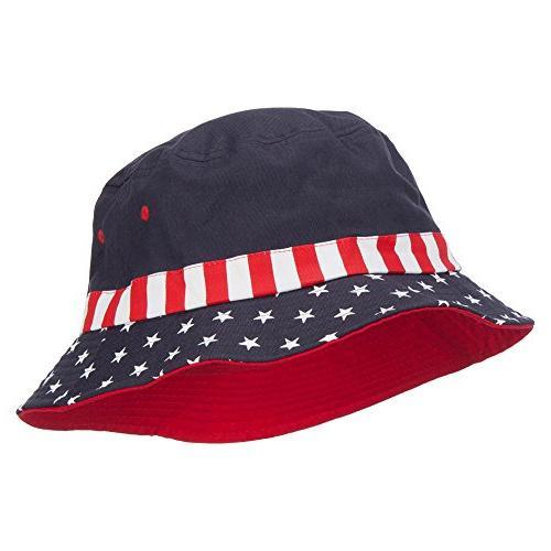 usa flag bucket hat flag l