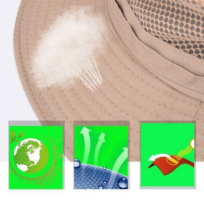 USA Hat Bucket Fishing Hiking Wide Hat summer