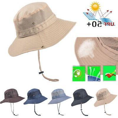 USA Bucket Fishing Wide UV Hat
