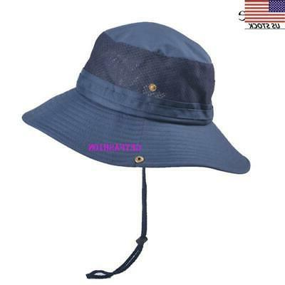 USA summer Sun Hat Bucket Cap Protection