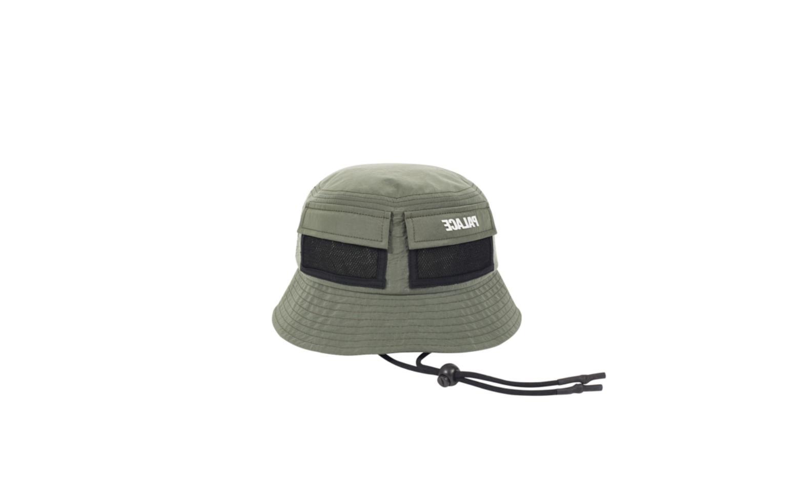 utility shell bucket hat olive l xl