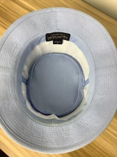 *VINTAGE* Dorfman Pacific Blue Bucket Hat for Fishing Size