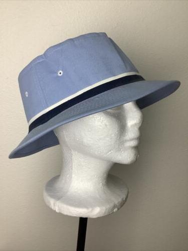 *VINTAGE* Dorfman Blue Hat Fishing