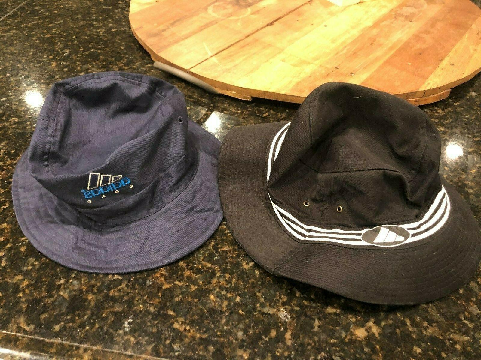 vintage mens bucket hat lot of 2