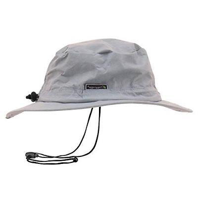 waterproof breathable bucket hat gray adjustable