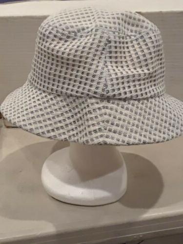 White Bucket West Coast Novelty Headwear Size NWT