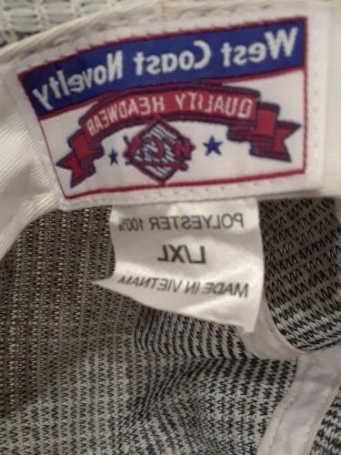 White Headwear Size L/XL NWT
