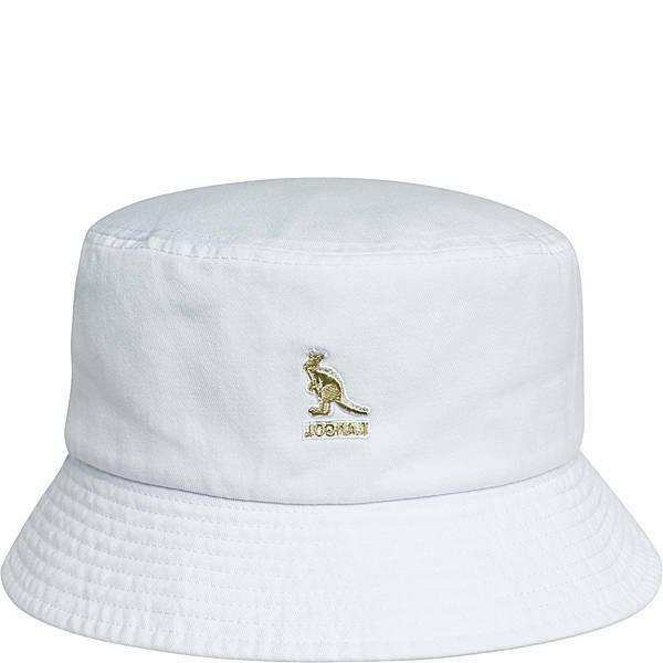 white washed bucket hat unisex size large
