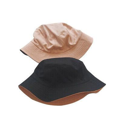 Wide Hat Two Tone Beach Double Sunshade