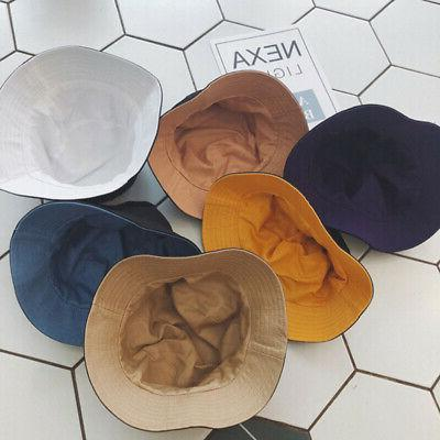 Wide Bucket Hat Tone Double Sided Outdoor