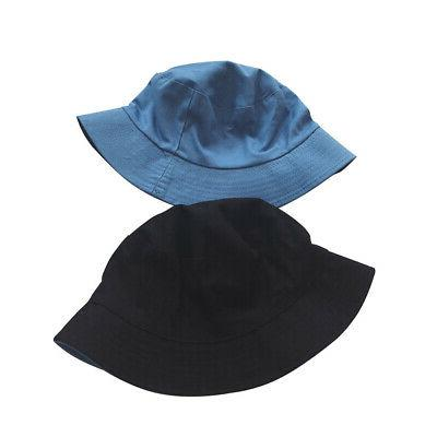 Wide Brim Fisherman Hat Tone Double Sided Sunshade