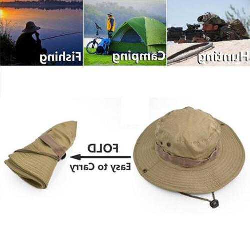 Wide Hat Hiking Fishing Cap