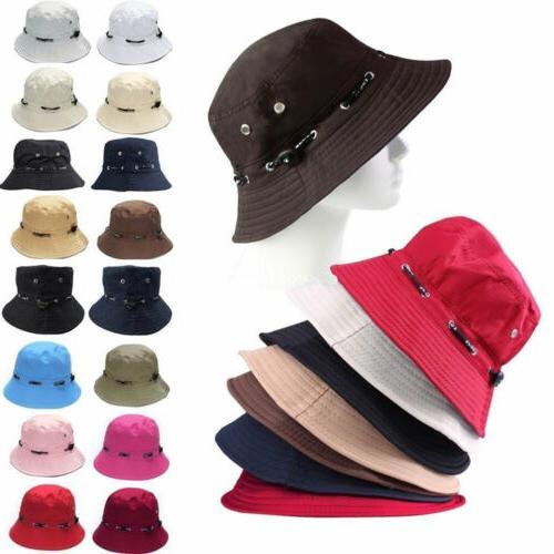 Women Bucket Hats Sun Fishing Outdoor Wide Caps