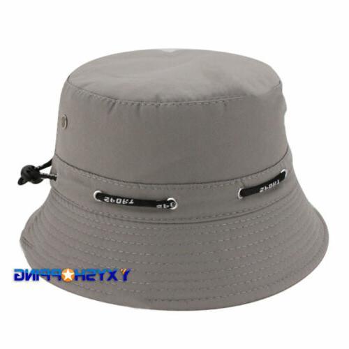 Women Bucket Hats Outdoor Wide Brim Caps