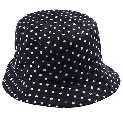 Women Floral Sunscreen Bucket Travel Holiday Cotton Cap