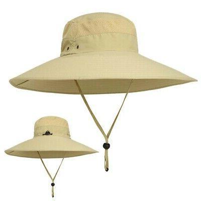 Women Brim Bucket Hat Hunting Fishing Cap Sun Hat
