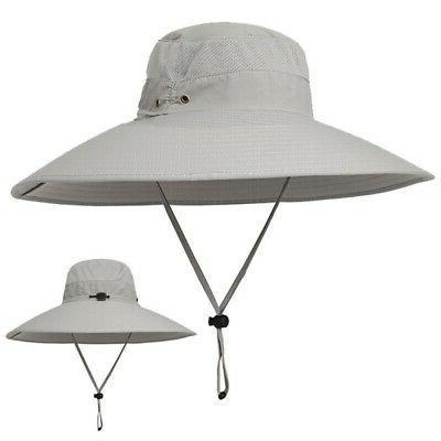 Women Men Bucket Fishing Cap Sun Hat Cool