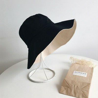 Women's Brim Beach Cotton Sun Hat