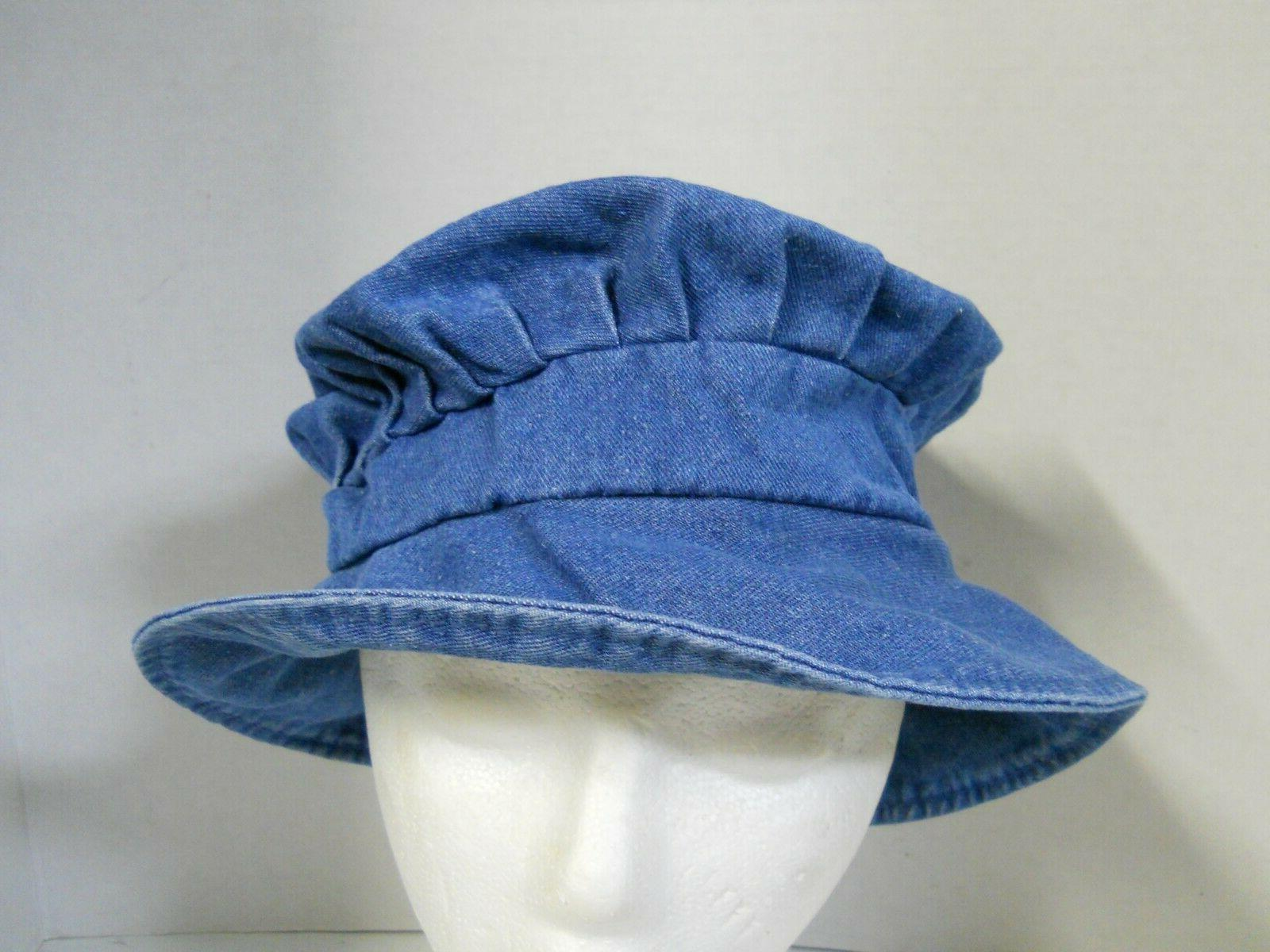 Women's Bucket Beach Floppy Foldable Sz M-L