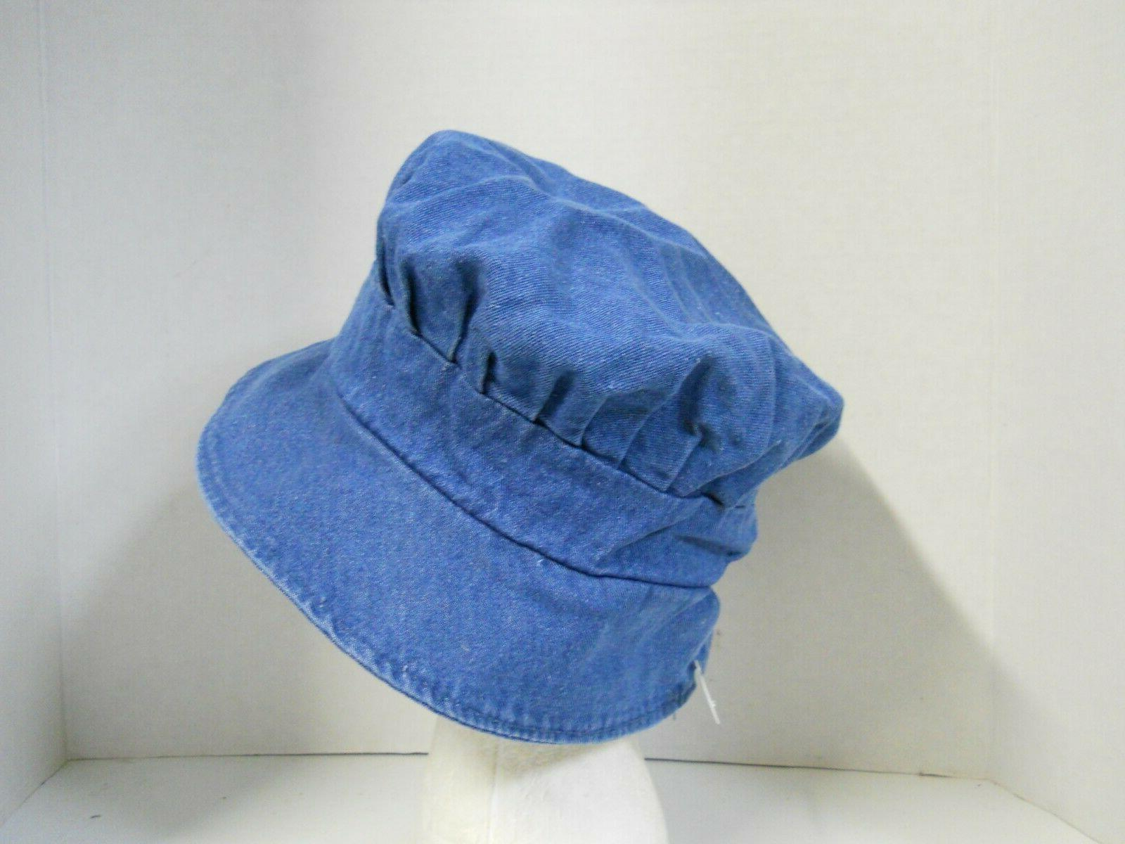 Women's Pleated Bucket Hat Sun Floppy Versatile M-L