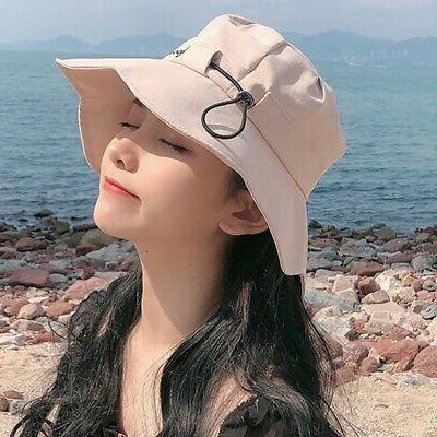 Women's Sun Floppy Beach Ruffles Caps