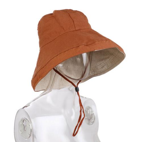 Women Hat Brim Hat Packable Boonie