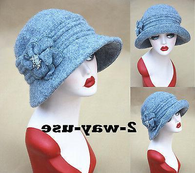 Womens Style Cap Winter Bonnie Hats A299