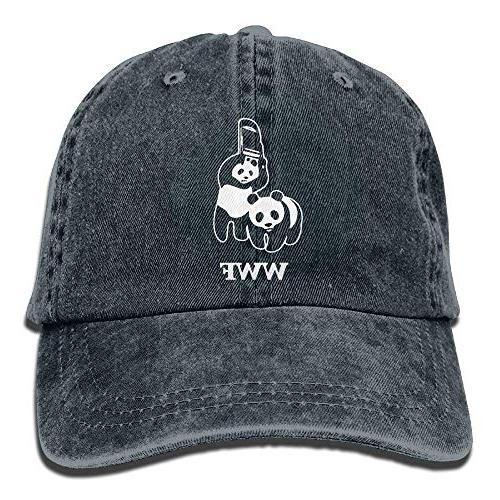 wwf panda bear wrestling low profile plain