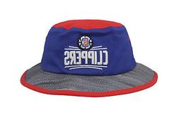 15636e9541c Editorial Pick ADIDAS LA Clippers Royal Blue Red Gray Bucket Hat Adult Men