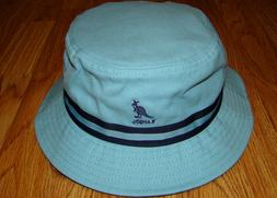Light Blue  KANGOL  Stripe LaHinch  Bucket Hat  Style  K4012
