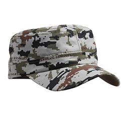 Limsea Outdoor Tactical Plain Army Military Cadet Style Cap