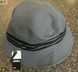 "Adidas Linear Bucket Hat Grey/Black ""One size Fits Most"""