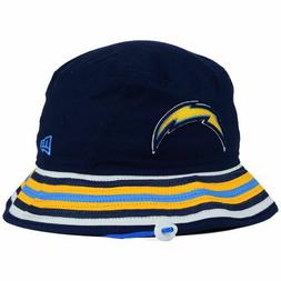 Los Angeles Chargers New Era NFL Team Stripe Bucket Hat Cap