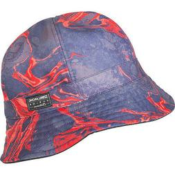 Billabong Melted Reversible Red Bucket Hat MAHTDBUC