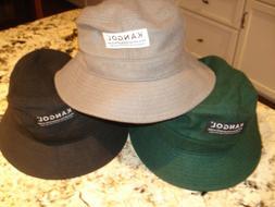 KANGOL Melton Bucket Hat-3 Colors-Large-NWOT  *SAMPLE