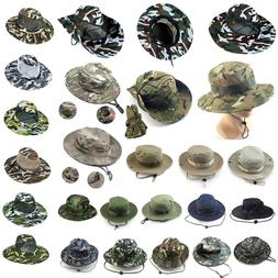 Golf Camoflauge Hunting Fishing Hiking Hat Bucket Caps Mens