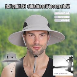 men fishing bucket sun protection hat waterproof