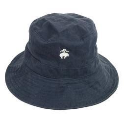 Brooks Brothers Men's Bucket Hat Floppy Fishing Golf Cap Nav