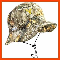 Men's Camo Bucket & Boonie Hat Realtree Hunting Fishing One