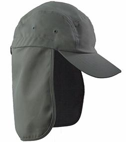 LA Gen Men's Cap Neck Cover Hiking Fishing Hunting Camo Army