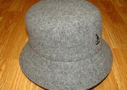Men's Classic Kangol Wool Lahinch Bucket Hat Color  Flannel