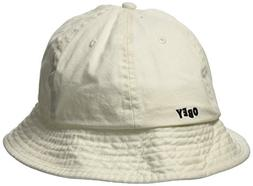 Obey Men's Decades Bucket HAT, Natural, O/S