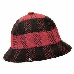 Kangol Men's Frontier Casual Urchin/Black Fashion Check Buck