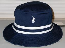 POLO RALPH LAUREN Men's Pony Cotton Chino Bucket Hat, Cap, N