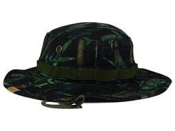 HURLEY - Men's Safari Camo Pattern Bucket Boonie Hat - Flex