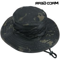 Men's Tactical Boonie Bucket Hats Sun Hunting Fishing Hiking
