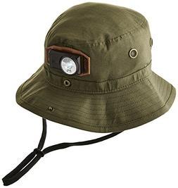 Coal Men's The Spackler Se Bucket Hat, Olive, Medium